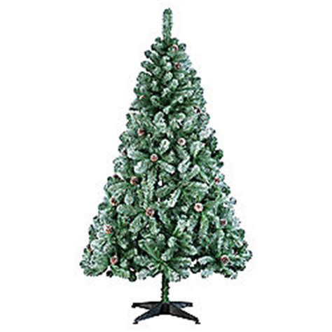 buy tesco 6ft swiss snowy mountain christmas tree from our