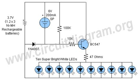 Wiring Garden Light by Automatic Solar Garden Light Circuit Schematic