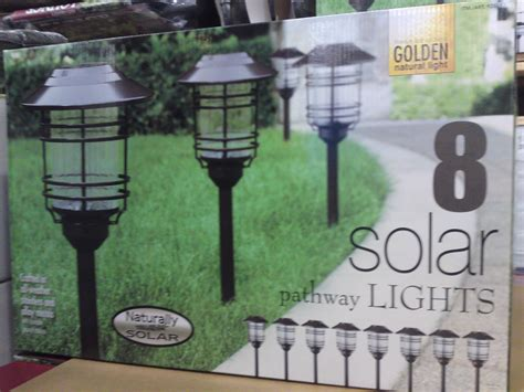 naturally solar pathway lights costco solar lights