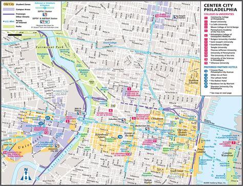 Carte Usa Villes Philadelphie by Filadelfia Plan De La Ciudad Mapas Imprimidos De