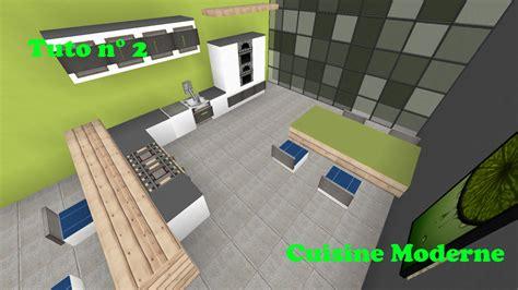 cuisine futuriste minecraft tuto cuisine moderne