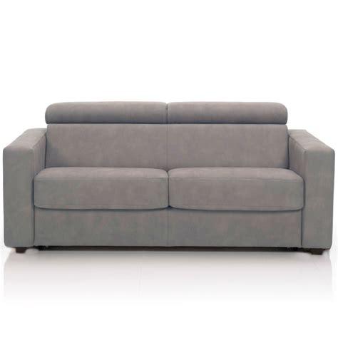 canapé tissu déhoussable canapé convertible 3 places tissu déhoussable gris