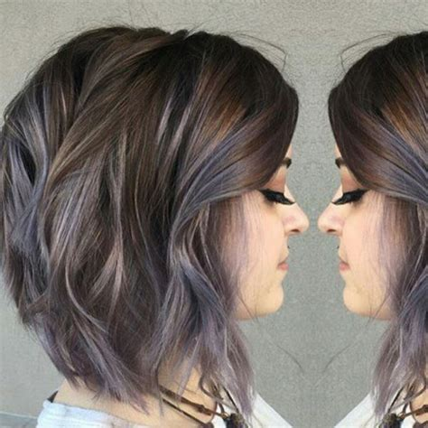 gray highlights ideas  pinterest gray hair