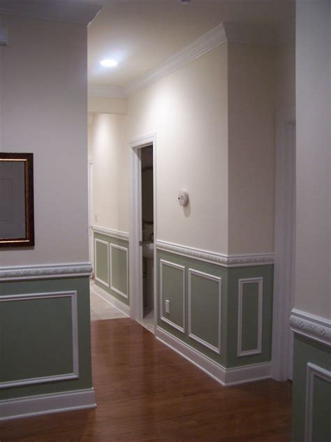 Painted Wainscoting by World Secret Renovation Wainscot Paneling