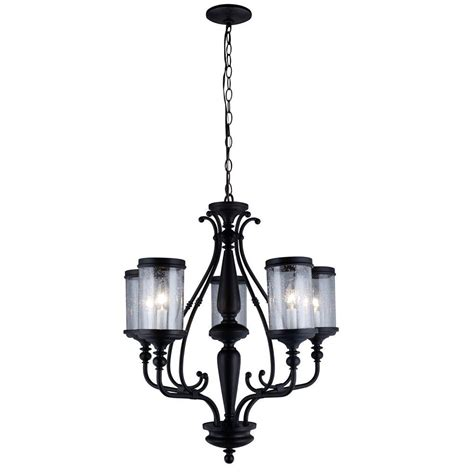 chandelier glass l shades world imports estella collection 5 light oil rubbed bronze