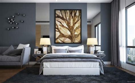 Décoration Chambre Mur Gris-exemples D'aménagements