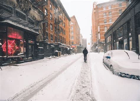 record breaking blizzard transformed nyc   tranquil