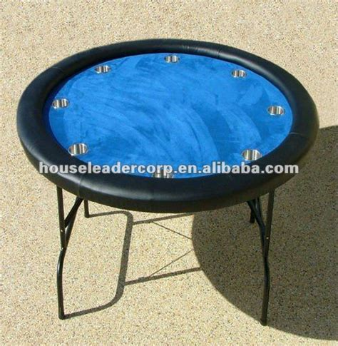 round felt game table cover 52 inch round poker game table with blue felt view poker