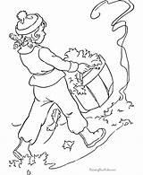 Coloring Leaves Pages Raking Rake Leaf Anime Tree Jaguar Kid Aladin Raisingourkids Customize Colorings Popular Hdimagelib Credit Larger Sheet Comments sketch template