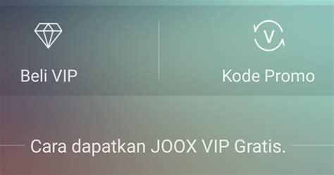 Cara Mendapatkan Joox Vip Member Gratis Selamanya Terbaru