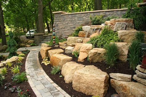 retaining walls mn hardscapes mn landscape design