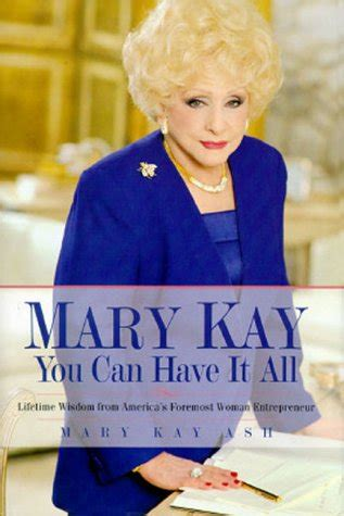 mary kay      lifetime wisdom  americas foremost woman entrepreneur