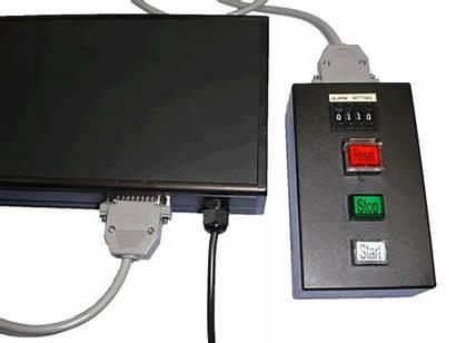 Remote Led Digit Timer Display Stop Timers