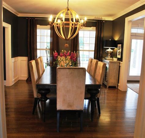 best 25 black dining rooms ideas on pinterest black