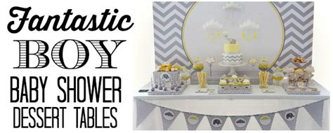 neat unique baby shower sweets dessert table ideas