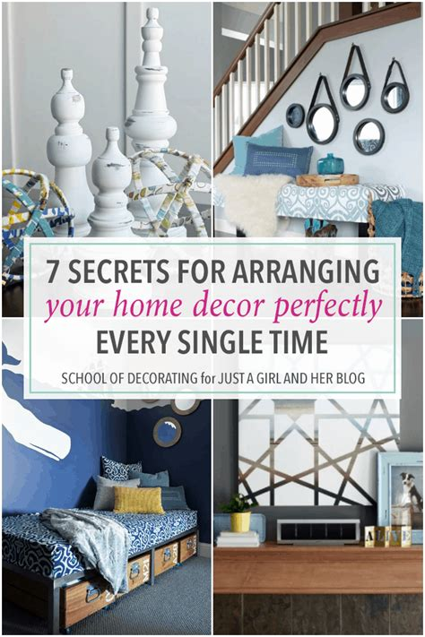 Your Home Decor by 7 Secrets For Arranging Your Home Decor Perfectly Every