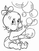Baby Coloring Pages Toddler Sheet Bebe Sister Kleurplaat Para Pooh Dibujos Bird Winnie Tweety Little Dessin Bubbles Characters sketch template