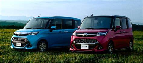 2017 Toyota Roomy และ Tank มินิแวน 2 รุ่นใหม่พื้นฐานไดฮัทสุ