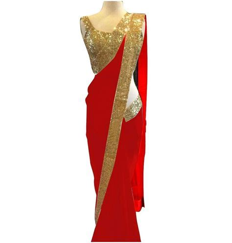 Buy Red Saree/Sari Online Starts At Rs 399 Lowest Price