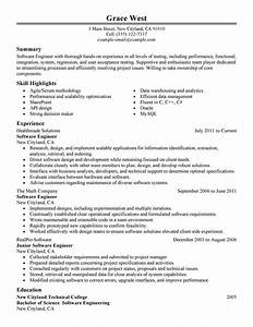 best software engineer resume example livecareer With resume samples for software engineers with experience