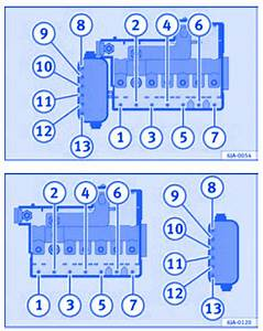 Seat Toledo 2012 In The Engine Compartment Fuse Box