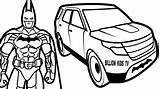 Suv Drawing Batman Coloring Spiderman Elevator Bucket Getdrawings Clipartmag sketch template