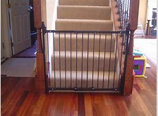 safety gates for stairs with banisters diy baby gate for