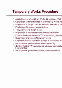 temporary will templatemanaging temporary works andrea With temporary will template