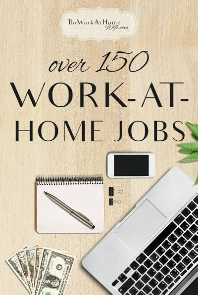 List of Real Work From Home Jobs