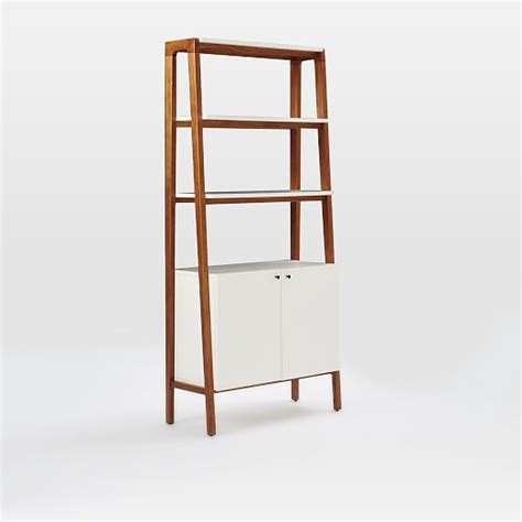 Modern Cabinet Bookcase  West Elm