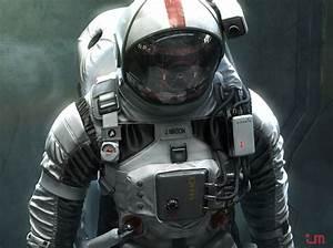 Cool Futuristic Astronaut Space Suit Design | Space suits ...