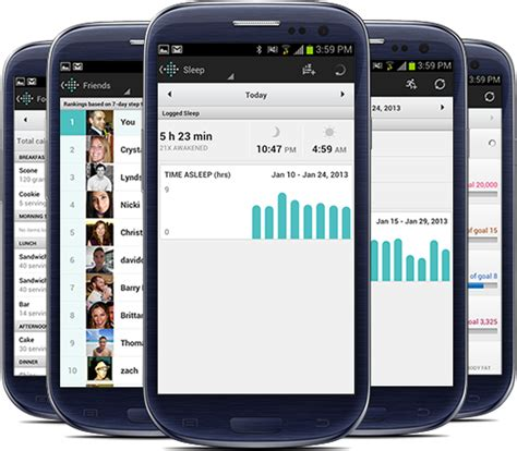 fitbit app android fitbit mobile app dashboard