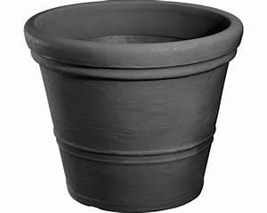Pflanzkübel 70 Cm Durchmesser : pflanzk bel geli milano kunststoff 60 h 47 cm anthrazit bei hornbach kaufen ~ Orissabook.com Haus und Dekorationen