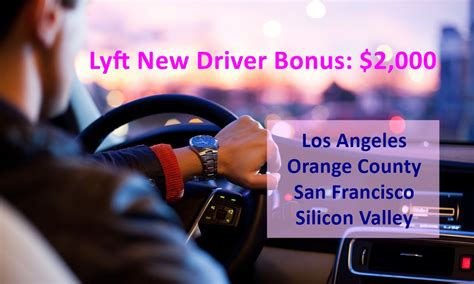 Lyft ,000 New Driver Bonus