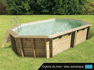 Piscine Bois Ubbink : piscine bois pas cher ocea 6 10 x 4 00 x 1 30 m ubbink ~ Mglfilm.com Idées de Décoration