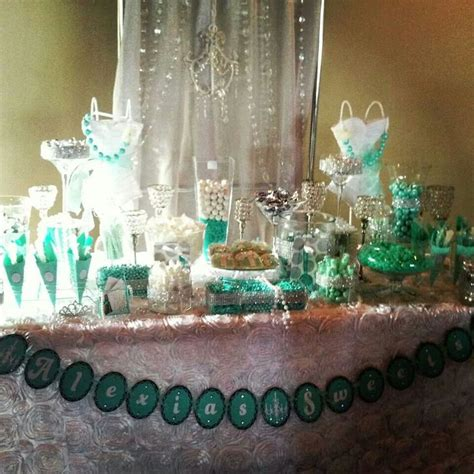 tiffany buffet table ls 36 best images about tiffany theme quinceanera on
