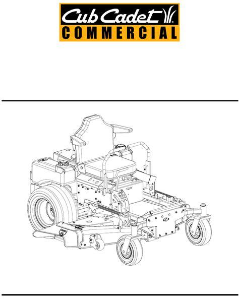 Cub Cadet Mower Deck Belt Problems by Cub Cadet Lawn Mower 23hp User Guide Manualsonline