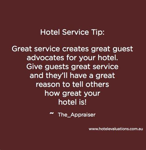 #HotelServiceTip: Great service creates great guest ...