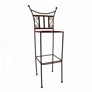 Tabouret De Bar Fer : tabouret bar fer forge marina chaise haute de bar fer forg marina ~ Dallasstarsshop.com Idées de Décoration