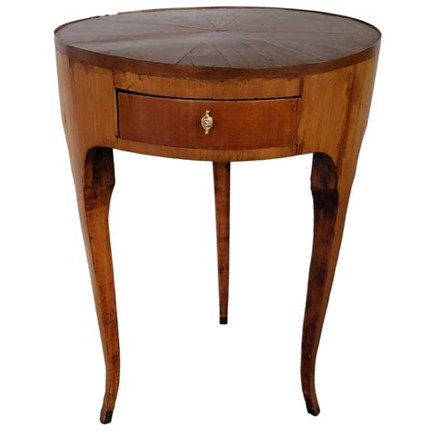 three legged wooden table 19th century french inlaid wood three legged side table