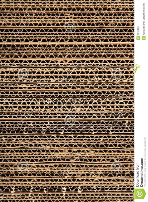 corrugated cardboard texture stock photo image