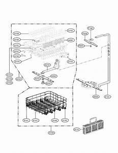 Lg Lds5560st Dishwasher Parts