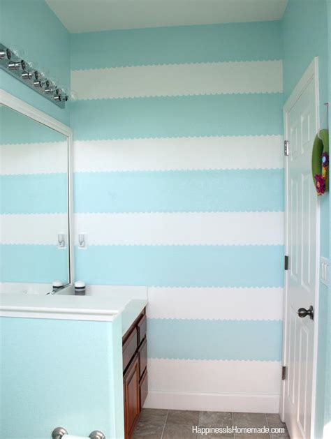 paint  striped accent wall diyideacentercom
