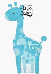 Balão Girafa Safari Menino Baby Boy Giraffe Balão girafa