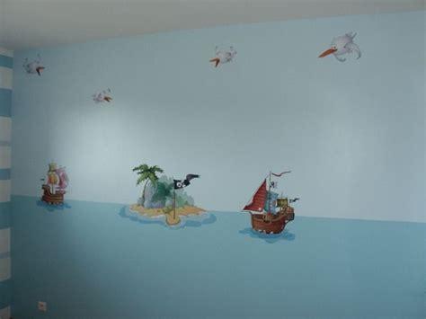 chambre bateau pirate stickers vaisseau pirate fille