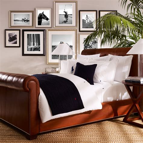 Buy Ralph Lauren Home Polo Player Duvet Cover  White Amara