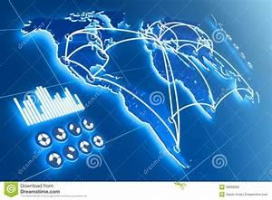 Futuristic touchscreen stock illustration. Illustration of ...