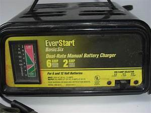 Buy Everstart Basic Six Dual Rate Manual Battery Charger 6