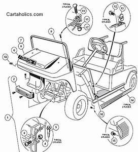 35 Ezgo Steering Parts Diagram