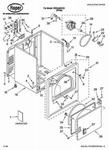 Roper Residential Dryer Parts